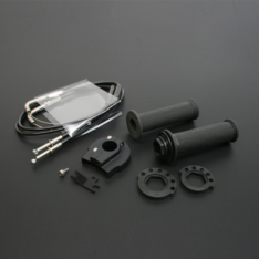 Poignée tirage rapide EVO Noir / Diam enrouleur :38/40