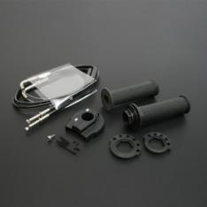 Poignée tirage rapide EVO Noir / Diam enrouleur : 38/40 Rondelle teflon incluse